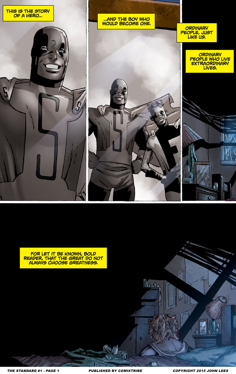 The Standard #1 – Page 1