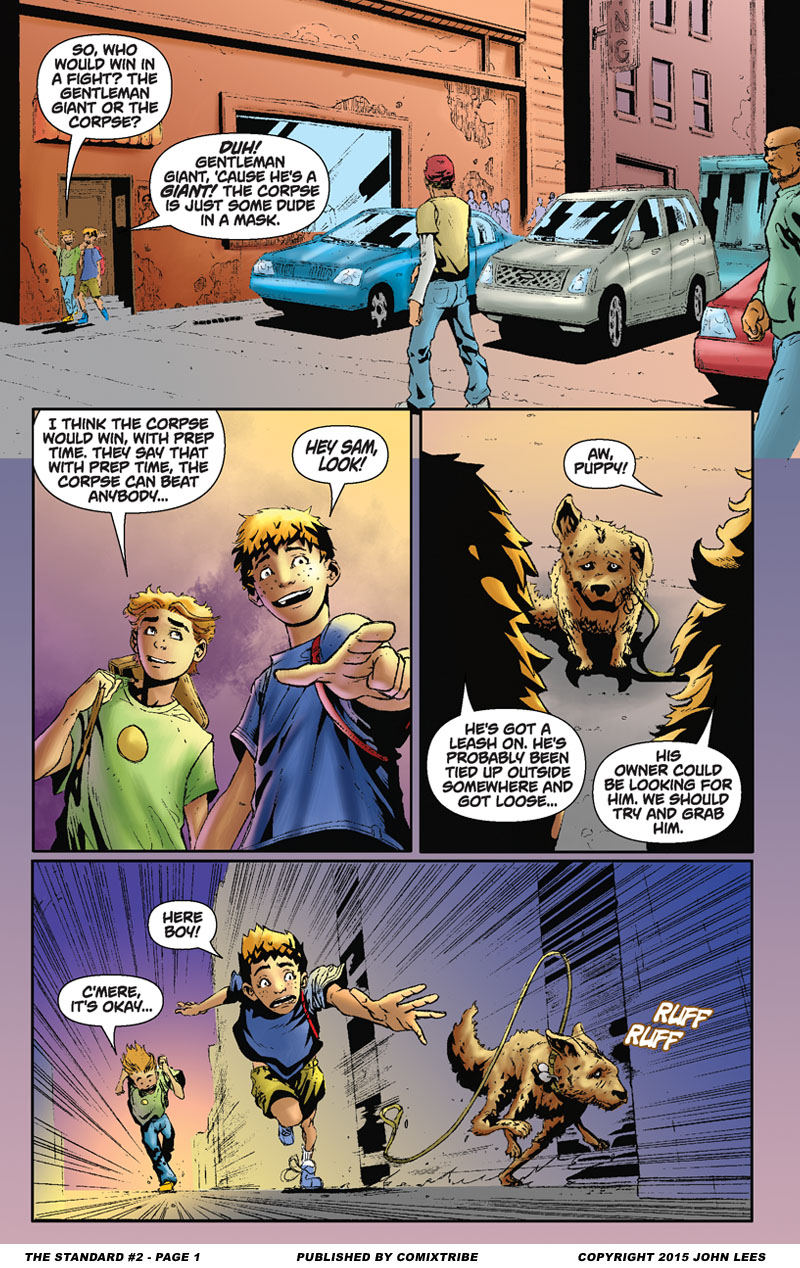 The Standard #2 – Page 1