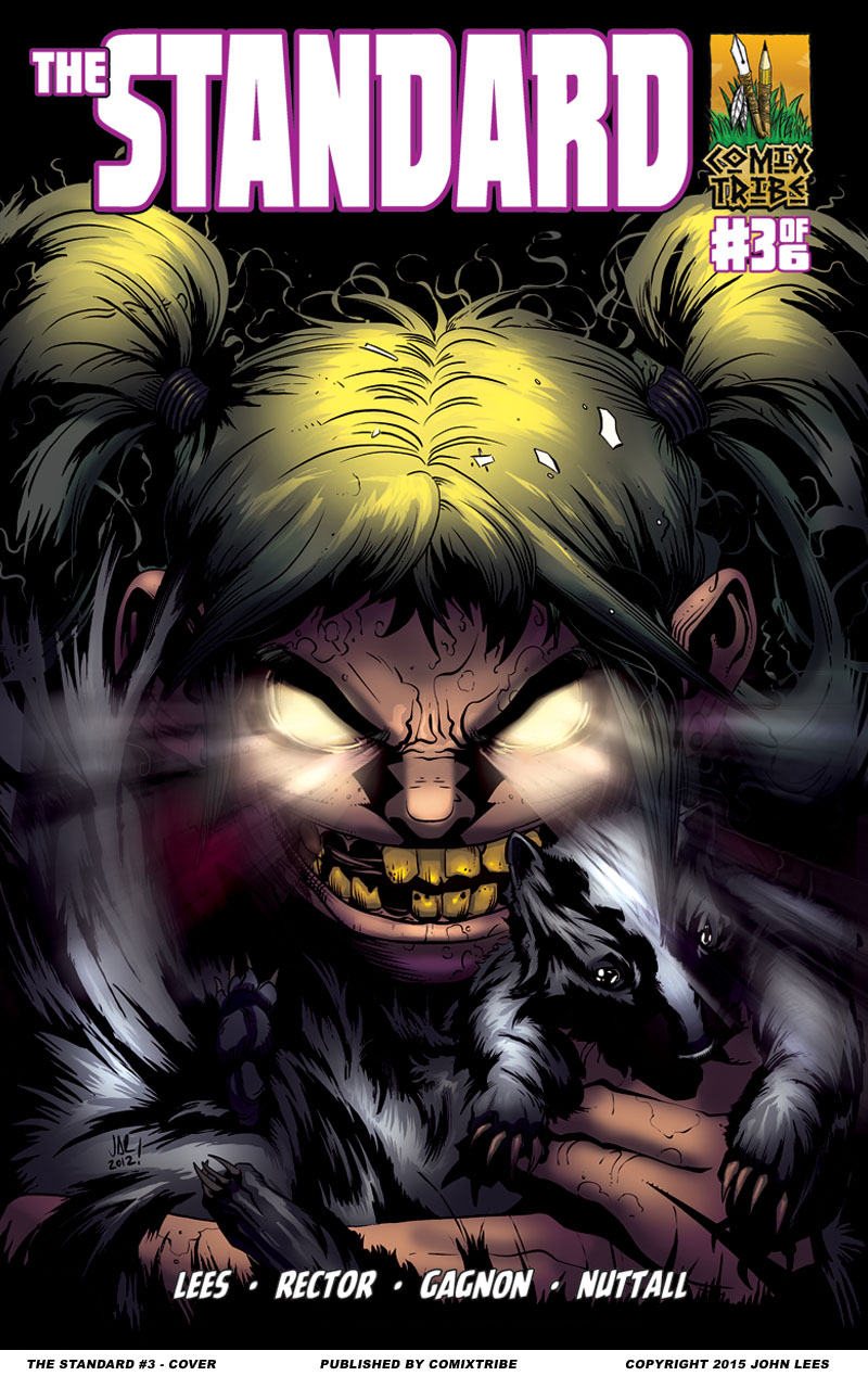 THE STANDARD #3 – Cover