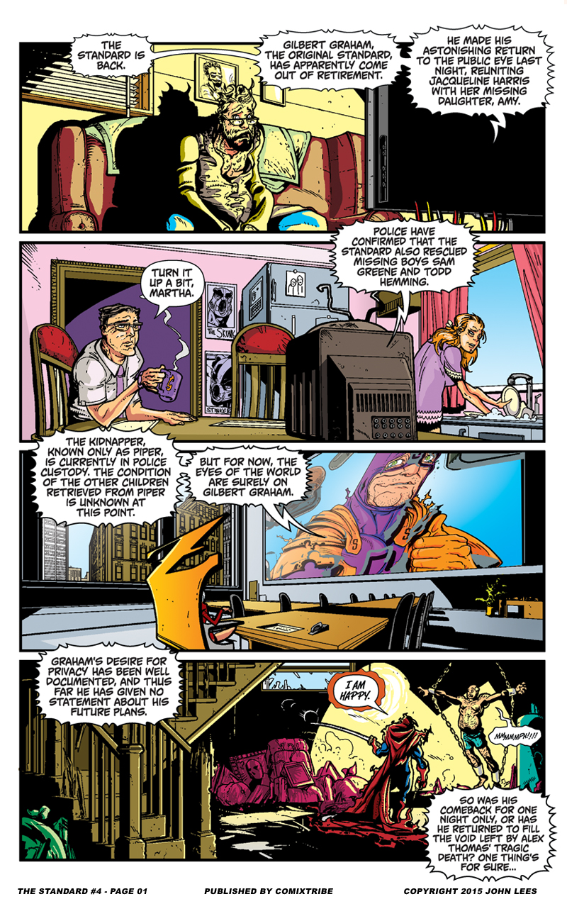 The Standard #4 – Page 1