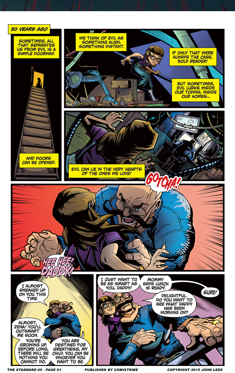 The Standard #5 – Page 1