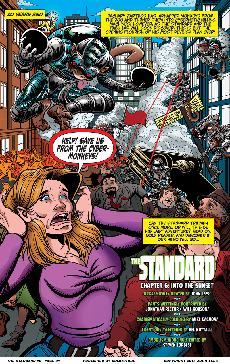 The Standard #6 – Page 1